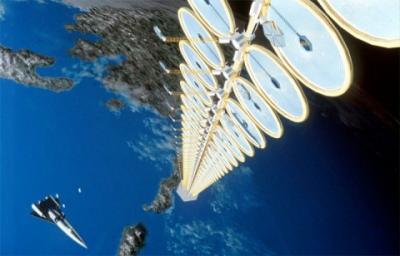 Energía solar desde el espacio